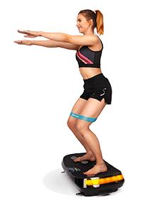plateforme vibrante oscillante VP400 exercices