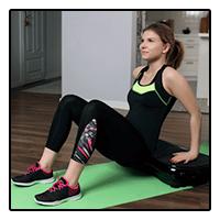 Exercice dips - Plateformes vibrante